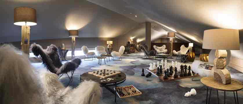 Le Taos - games room - main hotel